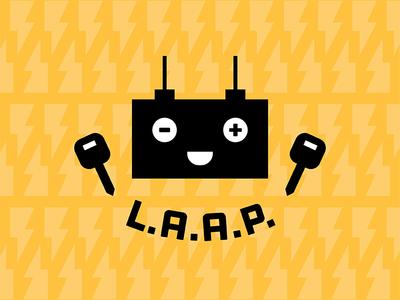 Longhorn Auto Assistance Program (LAAP) Logo service university logo car key battery assist auto