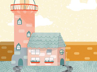 Cozy October Challenge - Day 4 childrens illustration children book illustration pastel colors cute illustration adobe illustrator