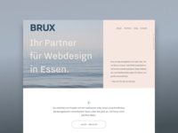 BRUX - Portfolio Relaunch