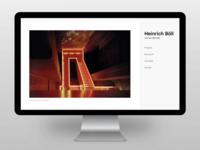 Website relaunch - Heinrich Böll