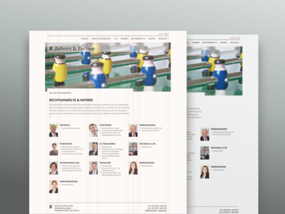 Layout team page chancellery minimal team about layout grid responsive webdesign business