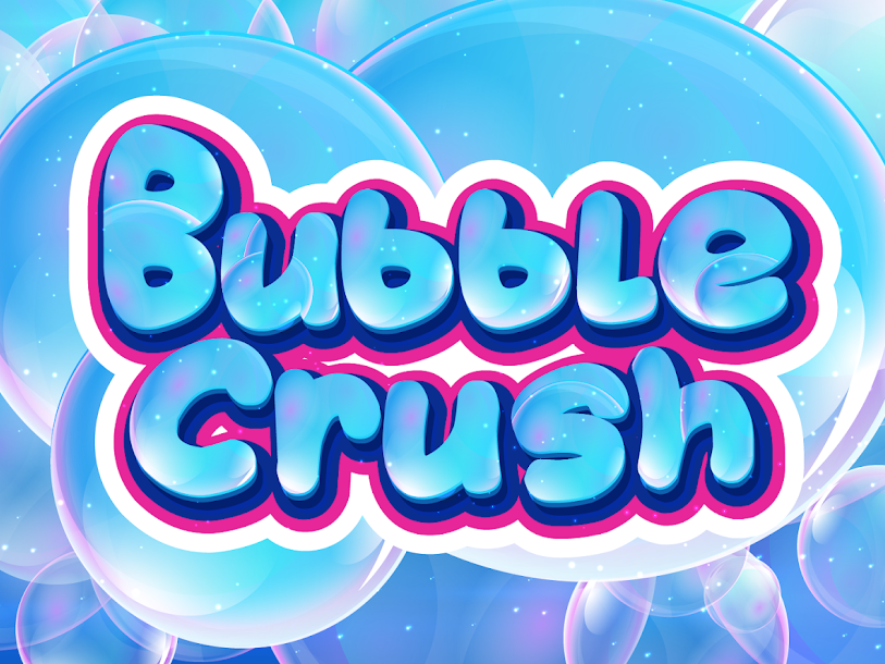 Bubble Crush Game release 2018 art director product management bouchwicha 2d game design ui ux game design game art game app crush bubble bubble-crush