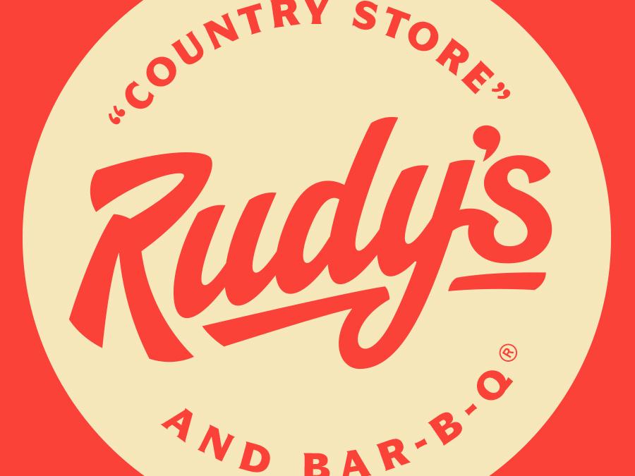 Rudy's BBQ Rebrand design branding typography