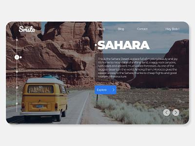 Travel travel web webdesign visual ux ui uiux typography minimal drop shadow branding
