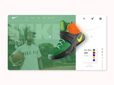 NIKE DRIII trend drop shadows product brand brand design nike air max branding webdesign web visual ux ui uiux typography minimal drop shadow
