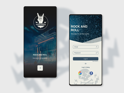 Daily UI 001 app design visual design login ui product design ux ui minimal design webdesign visual uiux typography branding logo 3d