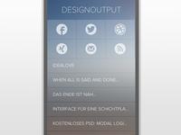 DESIGNOUTPUT mobile