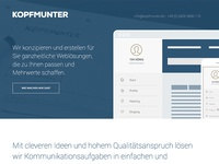 KOPFMUNTER Website