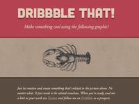 Dribbble that!