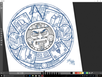 Azteca Moderno - Pencil Wars