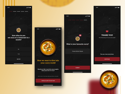 Restaurant Onboarding Screens illustrator icon vector ux ui illustration design app