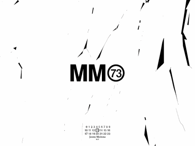 MM73 paris rip maison margiela