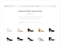 Shoes of Prey - 2018 Collection (Tablet)