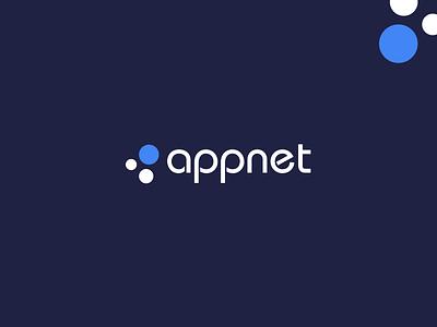 Appnet Inc | Logo Design graphic design flat minimal icon app vector ui ux branding logo design logo