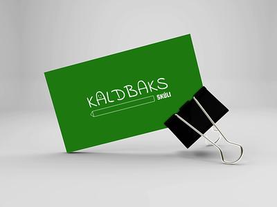 Kaldbaks skúli illustration design vector ux animation icon minimal logo design branding app logo