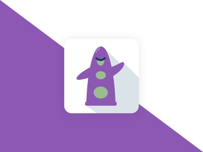 """Day of the Tentacle"" App Icon - DailyUI #005"