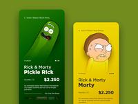 Rick & Morty Shop App