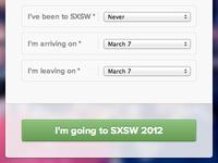 I'm going to SXSW 2012