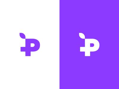 Passionfruit Logo plus fruit start up logo start up passionfruit plus passionfruit