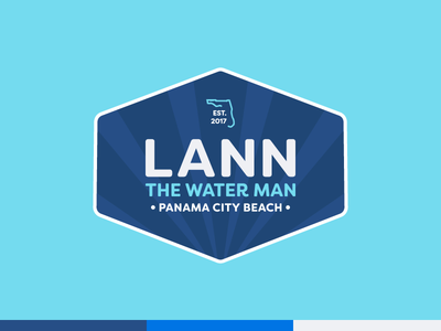 Lann the Water Man Logo