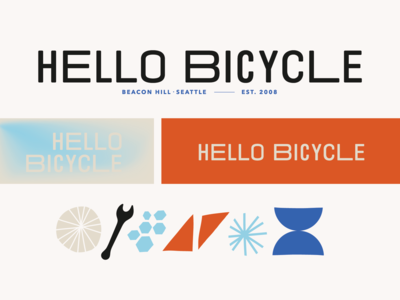 Hello Bicycle branding
