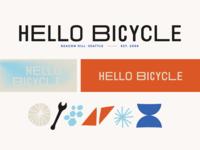 Hello Bicycle branding