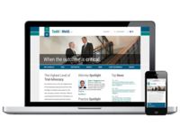 Todd & Weld Website