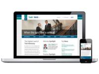 Todd & Weld Website