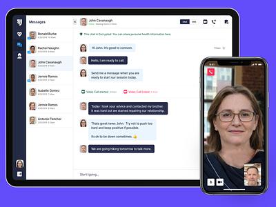 Online Therapy app healthcare telemedicine