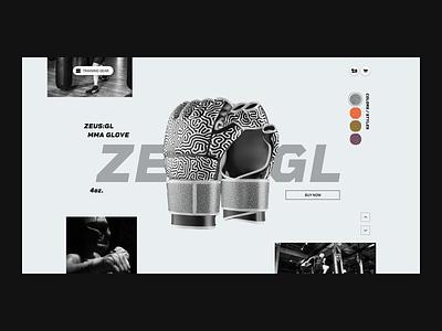 Glove Grid layout fight 3d grid layout web grid