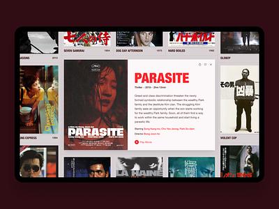 Movie Pan grid ui web pan movie