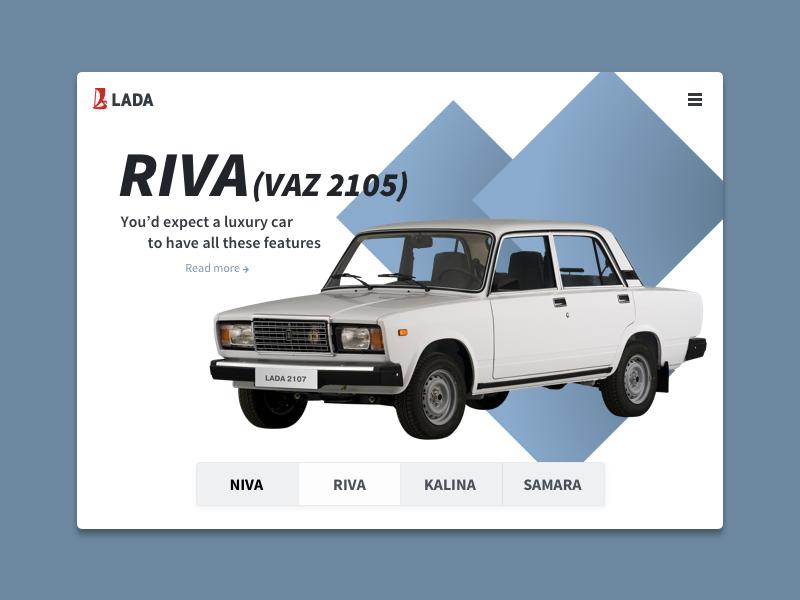 Lada Life Riva web car russian hero lada automobile