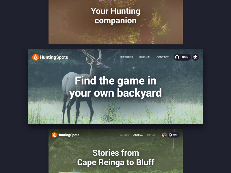 Hero images web hero hunting outdoor