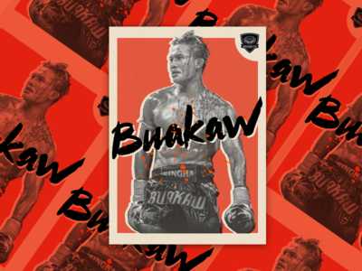 Buakaw - Muay Thai Card
