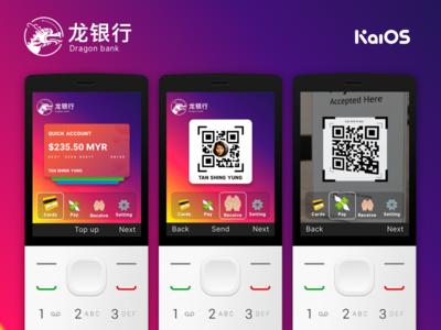 KaiOS Banking Concept