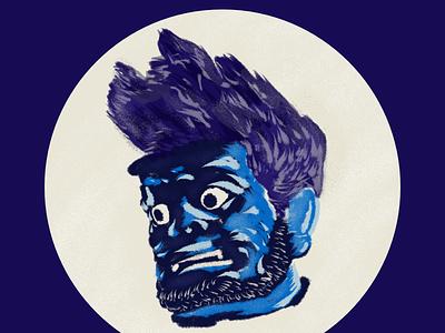 Gouache Brush trial brush and ink illustration procreate brush gouache