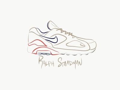 Nike Air Max 180 Ralph Steadman