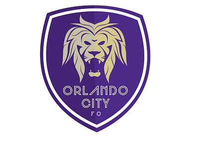 Orlando City Soccer Club sports logo sports typography vectors lion logo lion head lion orlando city logotype vector branding design logo design illustration logo florida football club orlandocity soccer orlando