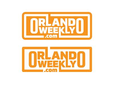 Orlando Weekly florida state publication magazine vector design typography florida branding illustration rebrand type logo design logotype logo orlando