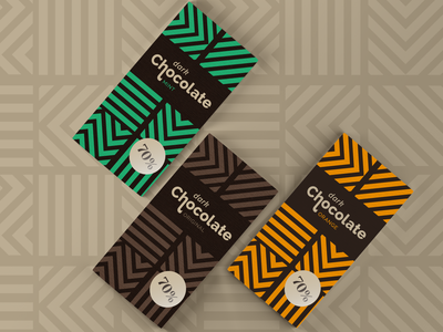 Chocolate Packaging Design pattern packaging design packagingdesign packaging dark chocolate chocolates chocolate packaging chocolate bar chocolate
