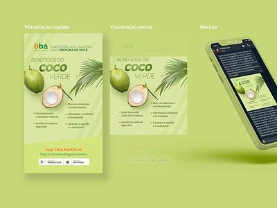 WhatsApp Art mobile green greeen ui design hortifruti post whatsapp whatsapp ui concept