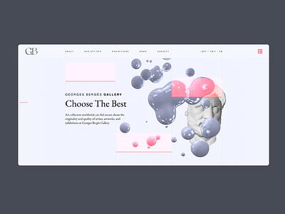 Gallery art design animation minimal vector web illustration 3d art ux ui