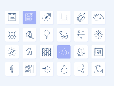 Icons for web LHB minimal icon flat art web vector illustration ui design