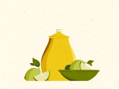 Juicy minimalism ✨ lime fruit juicy texture illustrator illustration