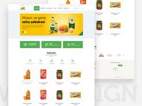 Agrowest web design