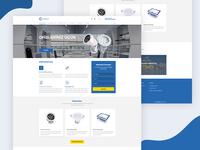 Electrical company web design