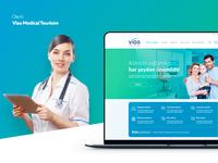 Vias Medical Tourism web design