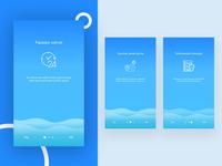 Bank of Baku application steps page design
