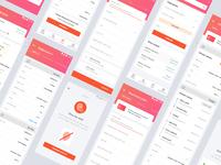 Delivery company application design