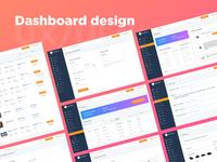 Delivery company dashboard design